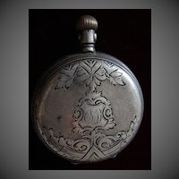 Antique Pocket watch 0.800 Silver 33054 Continental watch co.