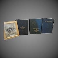 Lucky Bag Naval Academy 1924 25 26 year Books w original Photograph