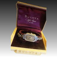 Ladies BULOVA Art Deco Watch WRISTWATCH 14K Rolled Gold Plate 15 Jewel Accurate Timepiece c.1920s