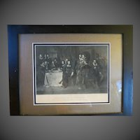 Antique original shakespeare engraving