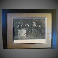 Antique original shakespeare engraving