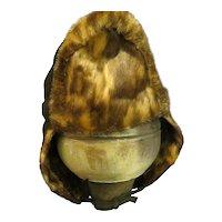 Vintage Spotted Seal Alaskan Trappers Hat