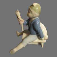 Vintage Porcelain Unusual Figurine impressed number 7892