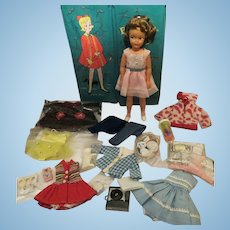 Vintage Pepper 1963 Ideal Factory mint Doll w/case clothes and accessories