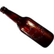 Vintage Peru Illinois Beer Bottle
