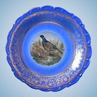 Ruffed Grouse Game Plate  made in Germany