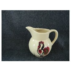 Watt Rooster Cream Pitcher