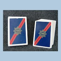 Like New Deck of TWA Playing Cards