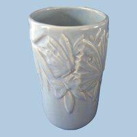 Nelson McCoy Blue Butterfly Vase