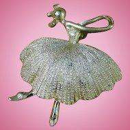 Tortolani Ballerina Brooch or Pin