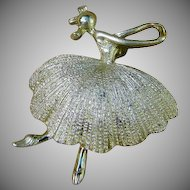 Tortolani Ballerina Brooch or Pin