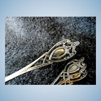 3 Sterling Silver Spoons by Lunt Silversmiths Monticello Pattern