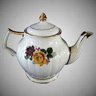 Beautiful Yellow Rose Sadler Tea Pot