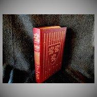 Leather Bound  Book * Ivanhoe * by Sir Walter Scott