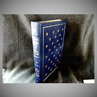 Fancy Leather Bound Book by Thomas Paine *The Rights of Man*