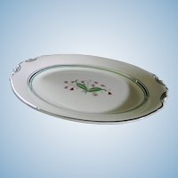 Syracuse China Coralbel 12 Inch Serving Platter