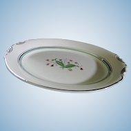 Syracuse China Coralbel 12 Inch Serving Platter