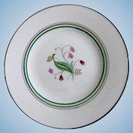 Set of 8 Syracuse China Coralbel Dinner Plates