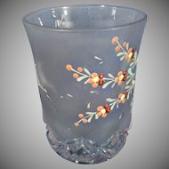 Victorian Hand Painted Tumbler