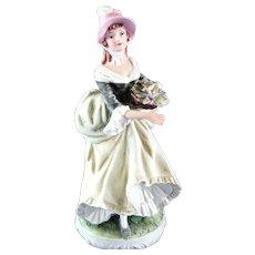 """Lefton  """"Elaine"""" Hand Painted Lady  Figurine"""