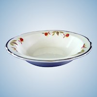 Hall China  ***Set of Four*** Autumn Leaf Cereal Bowls