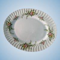 "Minton ""York"" Pattern 15 1/8 Inch Oval Platter"