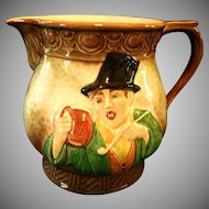 "Falcon Ware ""Tavern in the Town"" Pitcher"