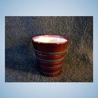 Banded Copper Luster Tumbler