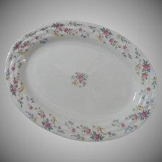 Delicate Vintage Porcelain Platter