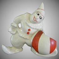 Vintage Clown Toothpick Holder