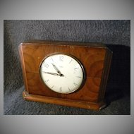 Vintage 1950's Art Deco Time Savings Clock