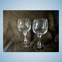 "American Stemware ""Sanibel"" Pattern Crystal Water Tumbler"