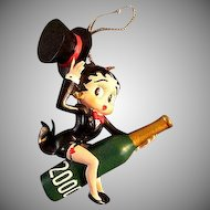Betty Boop Christmas Ornament for the year 2000