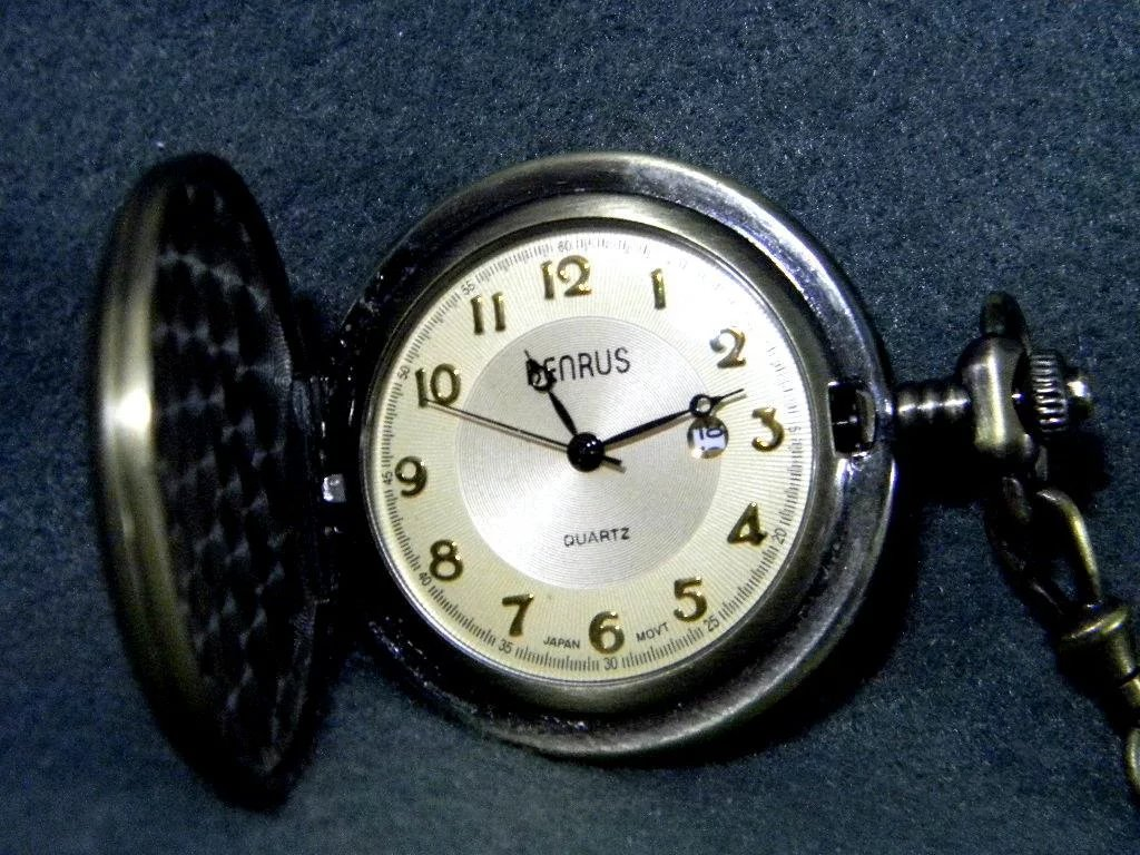how to change the battery on a quartz pocket watch