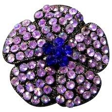 Pretty Lavender Brooch or Pendant