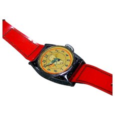 Original Loony Tunes Porky Pig Watch