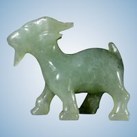 Jade Goat Figurine Carving