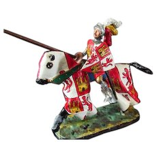 Diecast Medieval Knight on Horse by Mundiart  .......... Spain