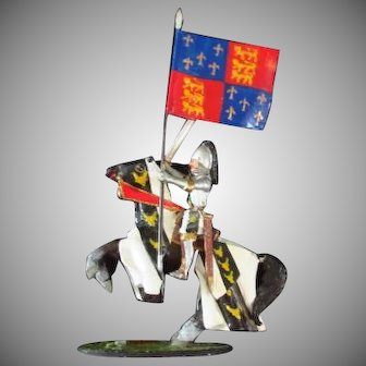 Diecast Medieval Knight on Horse by Worldart ........ Spain