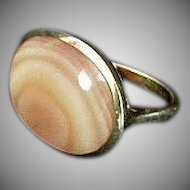 Lovely Moonstone Sterling Silver Ring size 7 & 1/4