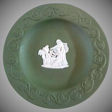 "Wedgwood Jasperware ""Cupid as Oracle"" Small Dessert Dish"