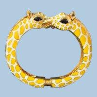 Giraffe Bracelet by Kenneth J Lane
