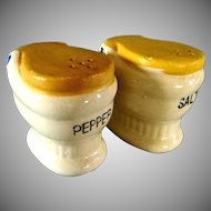 Interesting Novelty Salt & Pepper Shakers  **Cork Stoppered**