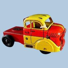 Marx  Deluxe Auto Transport pressed steel toy