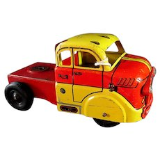 Marx  Deluxe Auto Transport pressed steel toy