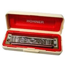 Hohner Marine Band Harmonica key of C with Original Box