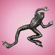 2 Frogs & 1 Lizard Pins