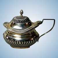 Beautiful 1902 English Sterling Silver Condiment Server
