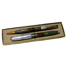 Pen & Pencil Set Advertising Honegger's Feeds by Ritepoint