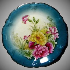 Beautiful Bavarian Numbered Cabinet Plate